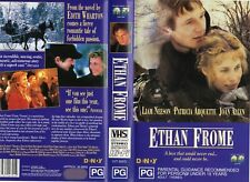 ETHAN FROME - Liam Neeson -VHS - PAL - NEW - Never played! - Original Oz release