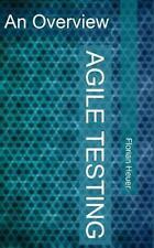 Agile Testing : An Overview: By Heuer, Florian Mason, Fergus