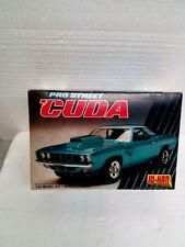 """Jo-Han Pro Street Cuda Car model """"Open Complete Undone"""""""