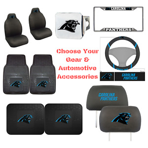 NFL Carolina Panthers Choose Your Gear Auto Accessories Official Licensed