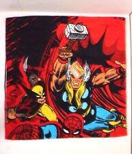 "Original Marvel Comics Avengers Boys Kids Towel Size 53"" x 27.5"" NWT"