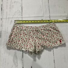 Juicy Couture Women Casual Shorts Size Small Floral 100% Cotton - C185