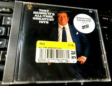 All Time Greatest Hits by Tony Bennett (CD, Oct-1997, Columbia (USA)) NEW vocal