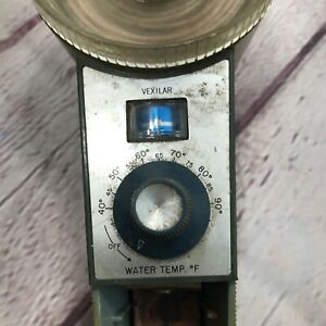 Vexilar Zonar Electronic Fishing Thermometer Poor Condition. Maybe Collectable.