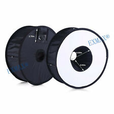 """EXMAX Ring Flash Diffuser Softbox 45cm/18"""" for Macro and Portrait Photography"""