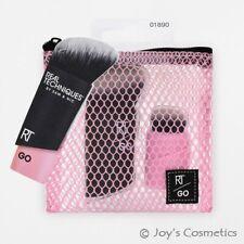 "1 REAL TECHNIQUES RT GO! Foundation & Highlight Brush ""RT-1890""*Joy's cosmetics*"