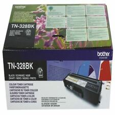 Brother TN328BK Noir Super Rendement élevé de toner laser TN-328BK [BA67942]