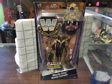 WWE Macho King Randy Savage Ringside Exclusive Mattel Elite Legends Macho Man