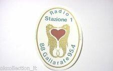 ADESIVO RADIO /Sticker _RADIO STAZIONE 1 GALLARATE (cm 9x12 ) cavalluccio marino