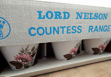 Vintage Retro Boxed Lord Nelson 18 Piece Tea Coffee Set 'Countess' Cups Saucers