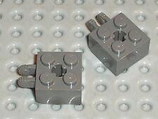 LEGO Star Wars OldDkGray hinge brick ref 40902 / Set 4482 4513 4588 4478 4589 ..