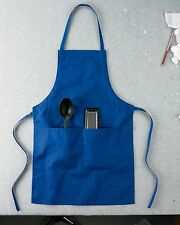 "12 Custom Logo Two 2 pocket Apron Aprons Chef Kitchen Personalized 30"" $12"