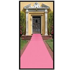 Sweet 16 PINK FLOOR RUNNER Birthday Party Decoration BABY SHOWER Pink Ribbon