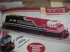 LIONEL,,,,,# 83422,,,,,NORFOLK SOUTHERN, FIRST RESPONDERS SD-60E, BUILT TO ORDER