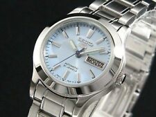 New Seiko Women Automatic Watch Analogue Display Stainless Steel Band SYMD89