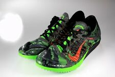 Nike Zoom Victory Flywire XC Track Shoes Men's 14 (Black/Green) 654693-043