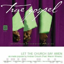 Andrae Crouch -  Let The Church Say Amen - Accompaniment CD NEW