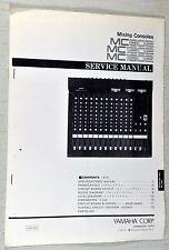 Yamaha MC802 MC1202 MC1602 Audio Mixing Console Service Repair Manual