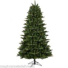 Clearance 7.5' GE Just Cut Artificial Christmas Tree 400 Color Change LED