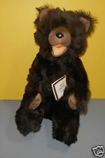 """Older Toyland LTD, Israel  16"""" The Natural Look Grizzly Bear Stuffed Animal"""