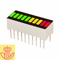 Display led 10 segmentos MULTICOLOR 5V+3A+2R (Arduino, prototipos)