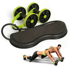 Abdominal Abs Wheel Roller - Home Fitness Waist Exercise Machine