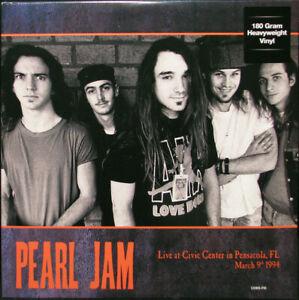 PEARL JAM Live At Civic Center 1994 Ltd Import 180G 2LP YELLOW VINYL Sealed NEW