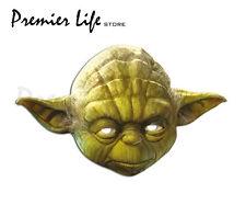 Star Wars Yoda carácter Máscara Facial Fiesta