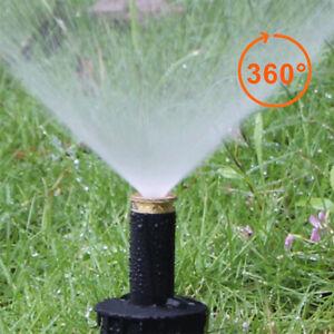 360° Garden Pop Up Sprinkler Spray Head Irrigation Watering System Cooling Tool