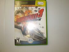 XBOX  BURNOUT3 TAKEDOWN  LIVE ONLINE ENABLED   USED UNTESTED