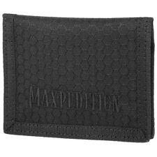 Maxpedition Agr Demi-Hauteur Wallet Slim Hommes Hex Ripstop Argent Poche Noir