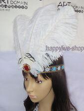 Il Brasile PIUMA CERCHIETTO CARNEVALE HEADDRESS Showgirl headpieces Samba Cerchietto