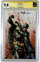 "DCEASED 1 CGC SS 9.8🔥Finch ""BLOODY VIRGIN VARIANT"" SIGNED BY Trevor Hairsine"