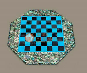 Elegantly Inlaid Chess Board/ chess Set for Adults Astounding Artwork on chess