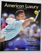 American Luxury US Open Special Edition, Magazine Marat Safin Cover (BI#76).