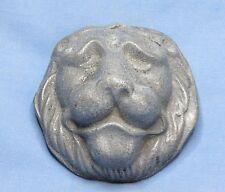 Antique Cast Aluminium Lions Head Door Knocker Figure