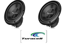 "2 - Pioneer A-Series TS-A250D4 1300 Watts 10"" Dual 4 Ohm Car Subwoofer Sub PAIR"
