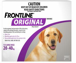 Frontline Original For Large Dogs 20-40kg 4pk - Fleas and Ticks Treatment