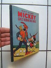 HACHETTE WALT DISNEY / / MICKEY CHEZ ROBIN DES BOIS  / 1950