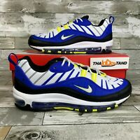 "Nike Air Max 98 ""Entourage"" Racer Blue White Black 640744-400 Mens Sizes"