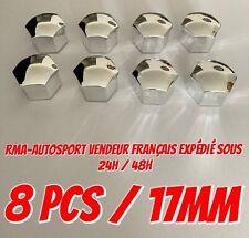 8 X capuchon cache ecrou JANTE ALU 17 MM PEUGEOT RENAULT FIAT AUDI CITROEN SEAT