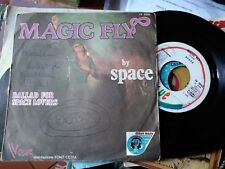 """7"""" SPACE MAGIC FLY BALLAD FOR SPACE LOVERS COPERTINA GOOD VINILE VG+/EX"""