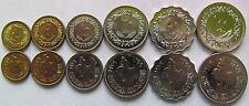 Libya set of 6 coins 1979 (1+5+10+20+50+100 Dirham) UNC