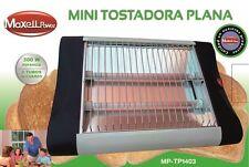 TOSTADORA ELECTRICA MINI HORIZONTAL PLANO TOSTADOR 2 TUBOS TOSTADORA DE PAN