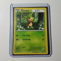 Chespin | Pokemon Card | + Toploader Protector | 2013 | 3/39 | TCG | Grass Type