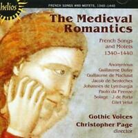 Various Composers : Medieval Romantics, The (Page, Gothic Voices) CD (2008)