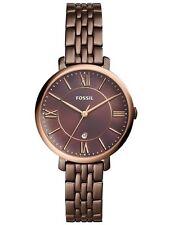 Fossil Damenuhr Armbanduhr ES4275 bordeaux-braun