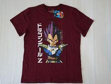 Dragon Ball ZVengeta Men's T Shirt Size Large DBZ MaroonNew With Tags