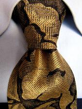 Men's yApre Cravats Gray Silk Tie A27385