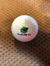 LOGO GOLF BALL-POOLESVILLE GOLF COURSE.....MARYLAND..BIRD LOGO..OLDER LOGO